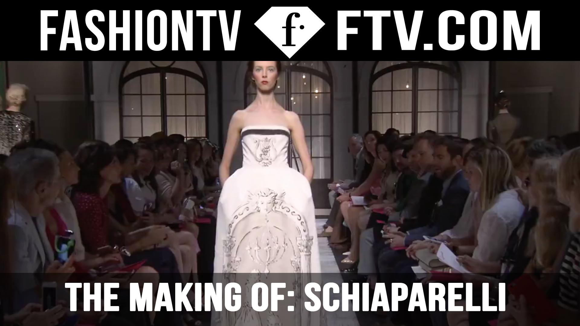 The Making Of: Schiaparelli F/W15-16 | FTV.COM