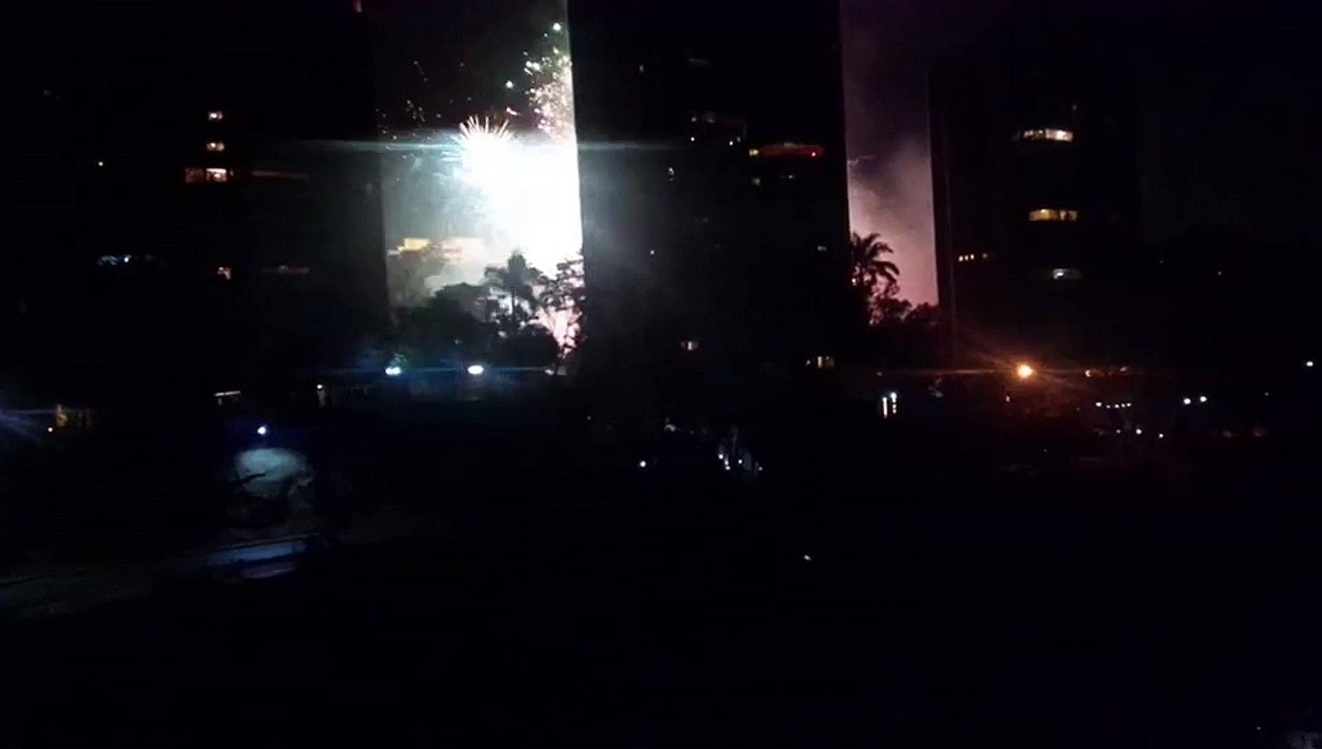 Tres personas detenidas por incendio en Los Naranjos