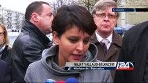 Najat Vallaud-Belkacem promet un renforcement des dispositifs de sécurité dans les écoles