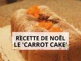 Cuisinez un 'carrot cake' pour Noël