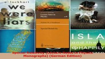 PDF Download  Special Relativity Lecture Notes in Physics Monographs German Edition PDF Online