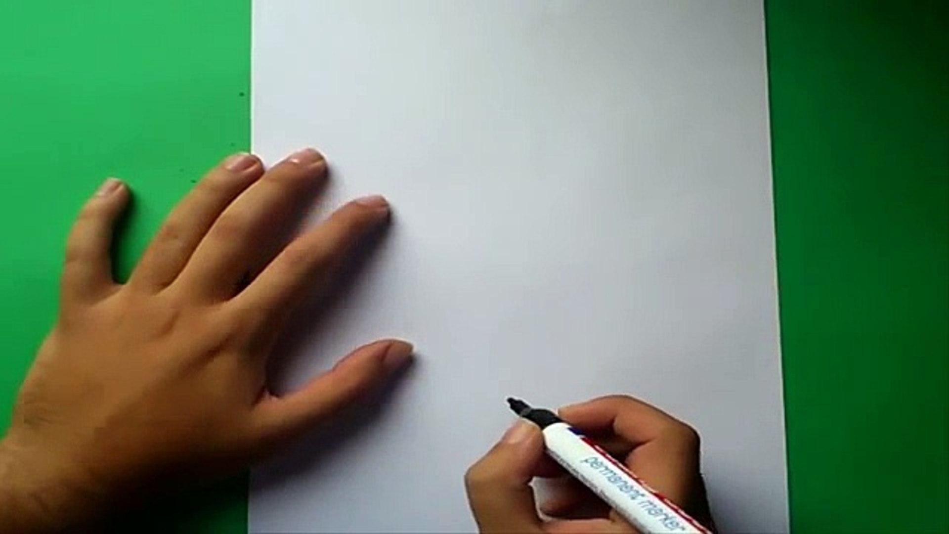 Como dibujar a Bugs Bunny paso a paso - Looney Tunes   How to draw Bugs Bunny - Looney Tunes
