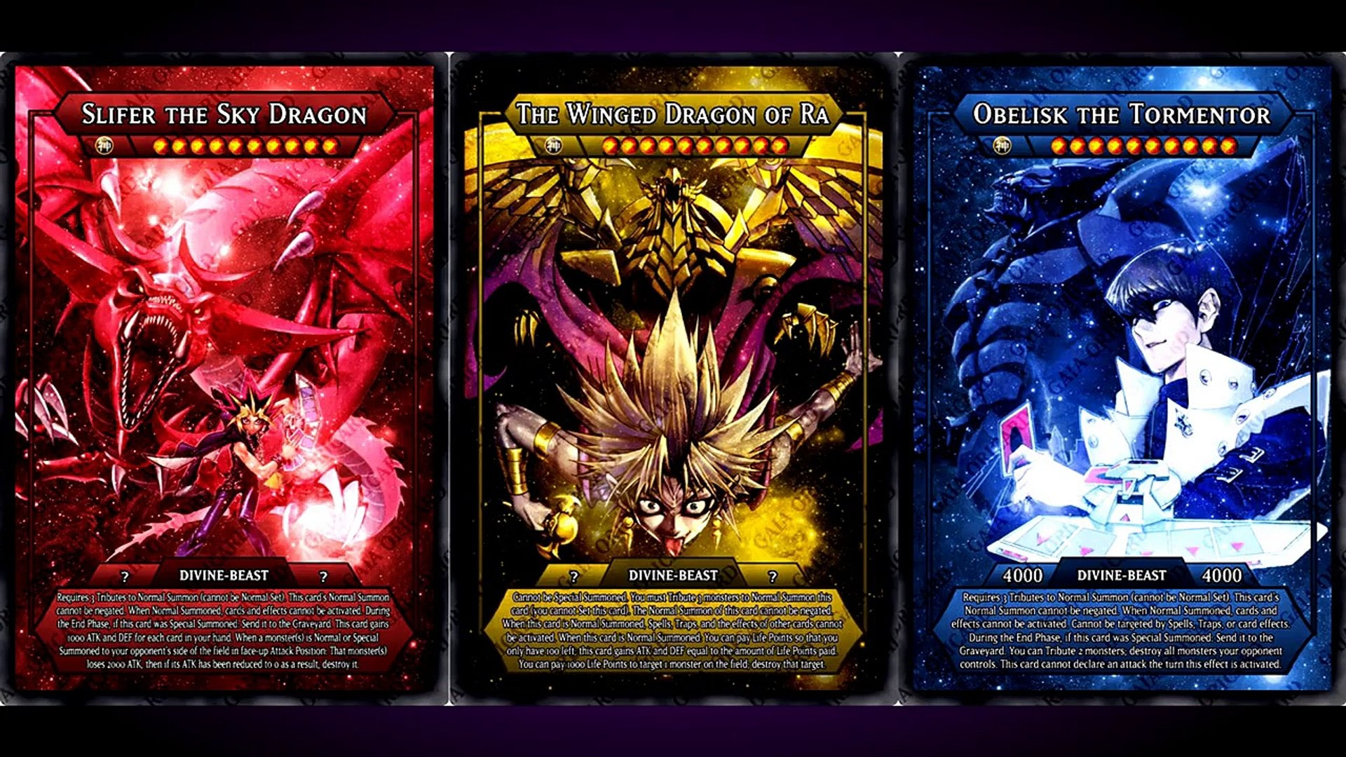 Yugioh Trivia The Winged Dragon Of Ra Episode 40 Video Dailymotion