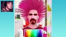 |PewDiePie перевод| BALD BIEBER? - Pewds Hair Salon |PewDiePie полная озвучка|