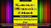 strong curvesLean Muscle Diet Improve Strong Curve for Perfect Shapestrong curves a