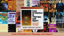Foot Orthotics in Therapy and Sport Download