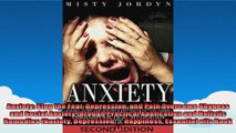 Anxiety Stop the Fear Depression and Pain Overcome Shyness and Social Anxiety through