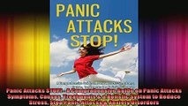 Panic Attacks STOP  A Comprehensive Guide on Panic Attacks Symptoms Causes Treatments