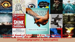 Download The First Book of Adam and Eve The Second Book of A