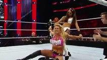 Becky Lynch & Charlotte vs. Brie Bella & Alicia Fox׃ Raw, December 14, 2015