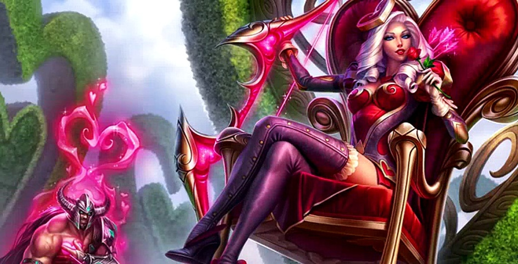 Heartseeker Ashe (2015 Update) Skin Spotlight - League of Legends