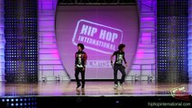 LES TWINS - France | Performance @ HHIs 2012 World Hip Hop Dance Championship