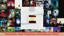 Read  First Timothy MacArthur New Testament Commentary Macarthur New Testament Commentary Ebook Free