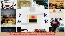 The Psychology Majors Handbook PSY 477 Preparation for Careers in Psychology PDF
