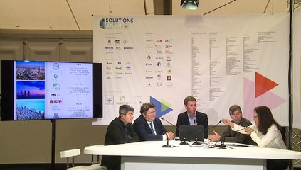 Plateau TV Le Bourget -  Carbon Count City : An atmospheric top-down MRV tool dedicated to cities - Climate Kic
