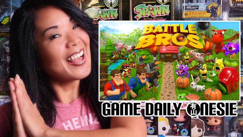 Battle Bros on Game Daily Onesie