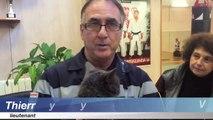 Nice : Les pompiers découpent un mur pour sauver un chat