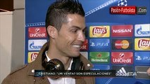 Entrevista Cristiano Ronaldo ´batió otro récord´ [Real Madrid vs Malmo 8-0] 2015
