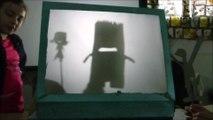 Initiation au théâtre d'ombres - Classe de CM1