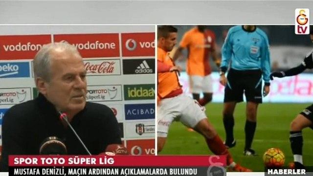 Beşiktaş-Galatasaray 2-1 | Maç sonu Mustafa Denizlinin basın toplantısı (14 Aralık 2015)