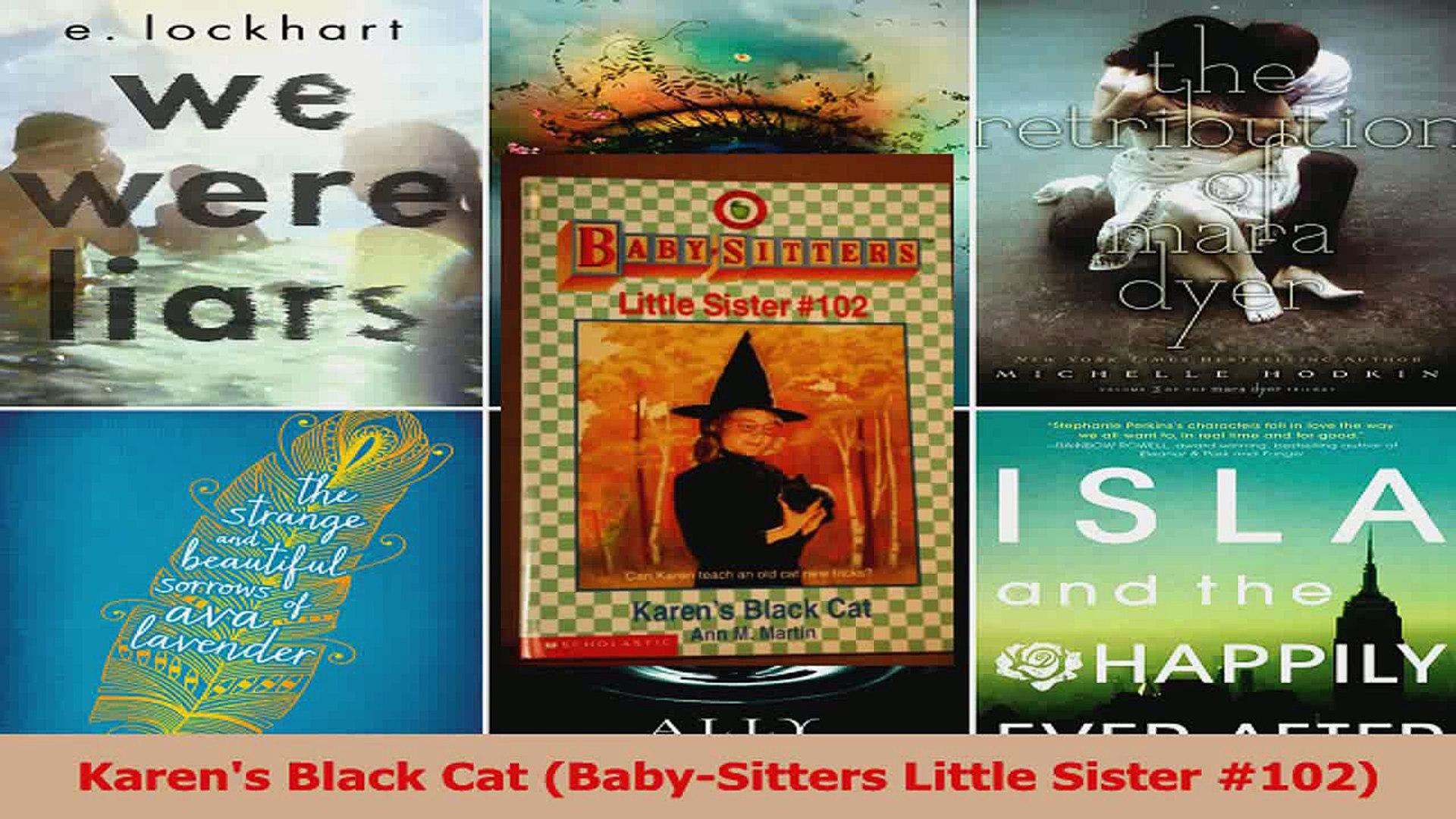 PDF Download  Karens Black Cat BabySitters Little Sister 102 PDF Full Ebook