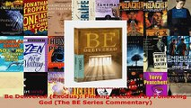 Read  Be Delivered Exodus Finding Freedom by Following God The BE Series Commentary Ebook Free