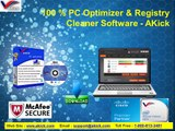 100 % PC Optimizer & Registry Cleaner Software - AKick