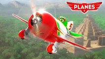 Disneys PLANES Racing! Dusty & Chupacabra Racing in Extreme Race with many Disney Planes!