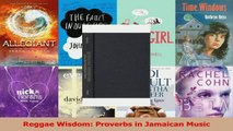 PDF Download  Reggae Wisdom Proverbs in Jamaican Music Download Online