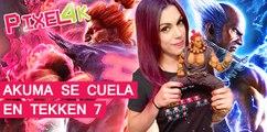 El Píxel 4K: Akuma se cuela en Tekken 7