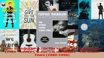 PDF Download  Tupac Shakur 2Pac In The Studio The Studio Years 1989  1996 2Pac in the Studio PDF Online