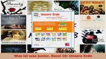 Lesen  Was ist was junior Band 10 Unsere Erde PDF Online