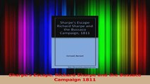 Download  Sharpes Escape Richard Sharpe and the Bussaco Campaign 1811 PDF Free