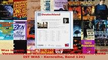 Download  Was ist was Band 126 Deutschland Mit Zeitleiste und Verzeichnis der Welterbestätten in Ebook Frei