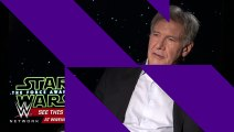 WWE Network׃ Star Wars actor Harrison Ford reveals if he'll reprise his role as Indiana Jones