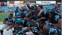 ESPN First Take - Do You Have A Problem With Panthers  Celebration