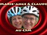 Film souvenir : Marie-Ange et Claude au CSM (16/12/2015)
