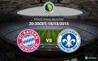 Bayern Munich 1-0 Darmstadt | All Goals & Highlights 15.12.2015 HD DFB Pokal