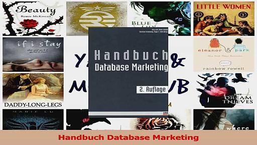 Lesen  Handbuch Database Marketing Ebook Frei