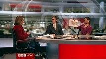CAROLINE DANIEL(FTimes) NAGA MUNCHETTY(BBC) CHARLIE STAYT(Referee) 03 March2012