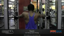 Squats 225lbs - Squats Workout By The Strong Brothers - Squats Exercise Technique