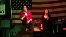 Gary Abbott & Lisa Marie sing 'Proud Mary' Elvis Presley Memorial VFW 2015