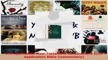 Download  Life Application New Testament Commentary Life Application Bible Commentary EBooks Online