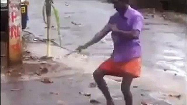 FUNNY DRUNK DANCE KERALA INDIA - INDIAN DRUNKEN STYLE