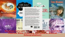 Read  Reading between Texts Intertextuality and the Hebrew Bible Literary Currents in Biblical Ebook Free
