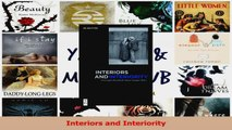PDF Download  Interiors and Interiority PDF Online