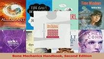 Download  Bone Mechanics Handbook Second Edition PDF Online