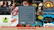 Read  History of New Testament Research From C H Dodd to Hans Dieter Betz EBooks Online