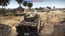 War Thunder Daily - Tank Battle #4 - Tiger Tank  in Tunisia