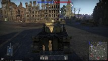 War Thunder Daily - Tank Battle #5 - Tiger Tank  in Advence to the Rhine